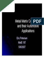 Metal Matrix Comp