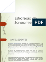 1.- Estrategia de Saneamiento - DS N 029-2014-PCM