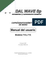 Respironics Tidal Wave 710-715 Manual Del Usuario
