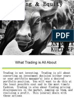 Trading & Equity