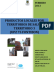 Productos Locales Territorio 3 Upz 75