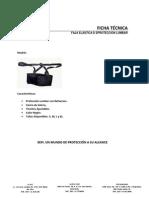 Ficha Técnica Faja de Protección Lumbar
