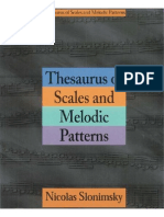 Nicolas Slonimsky Thesaurus of Scales and Melodic Patterns