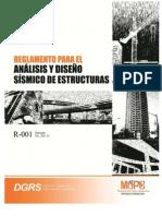 R-001 Reglamento Sismico 2011