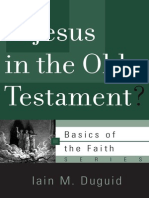 Is Jesus in the OT (Iain Duguid)