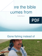 part 1 where the bible comes from