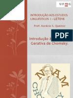Aula Gramática Gerativa Chomsky