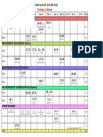 LUMS Training Calendar 2012 2013