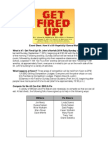 Get Fired Up Data Sheet