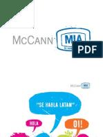 McCann MIA Credentials