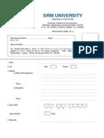 SRMphd Application[1]