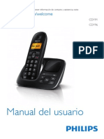 Manual Telefono Cd191