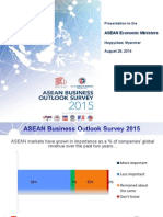 ASEAN Business Outlook Survey 2015