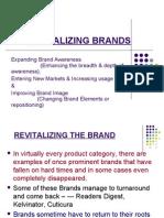 Revitalizing the Brand[1]