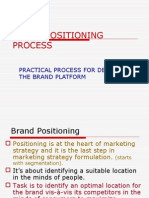 Brand Positioning Process