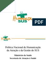 Politica Nacional Humanizacao Ms