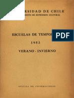 Memorias Semana Folclórica 1953