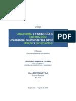 Anatomía y Fisiología de La Edificación - Olavo
