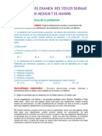 Reactivo Tercer Bloque Geografia Ciclo Escolar 2013-2014