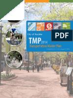 Boulder Transportation Master Plan (TMP) 2014
