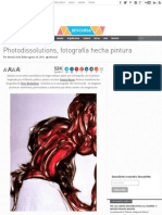 Photodissolutions, Fotografía Hecha Pintura - Cultura Colectiva - Cultura Colectiva
