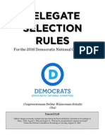 2016 Democratic Delegate Selection Rules
