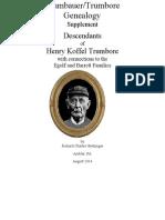Descendants of Henry Koffel Trumbore