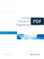 Introduction to Chemical Reaction Engineering Module