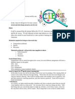 syllabus science 5