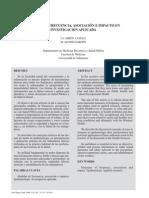 Medidas de Frecuencia Asociacion e Impacto