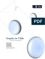 Sequía en Chile