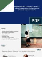 Presentación de José Alexander García en el Foro de Combate a la Deserción Escolar
