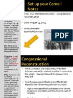 WEBNOTES - Day 3 - 2014 - Congressional Recon