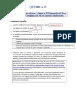 Actividad Integradora 4. El impacto de los compuestos orgánicos en el medio ambiente. Química II