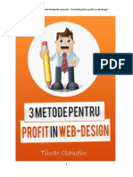 3 Metode Pt Profit in Web Design