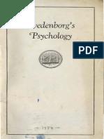 Brief Readings SWEDENBORG's PSYCHOLOGY Howard Davis Spoerl Swedenborg Foundation 1937