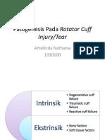 (PATGEN+PATFIS) Patogenesis dan Patofisiologi Pada Rotator Cuff Injury