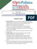 Wake Up to Politics - August 27, 2014