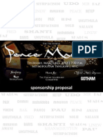 2012 Peace Market General Sponsorship