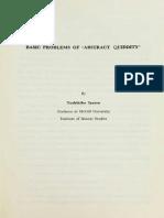 Toshihiko Izutsu • Basic Problems of ''Abstract Quiddity''
