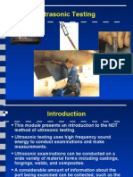 Introduction to Ultrasonic Testing