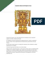 Principales Dioses Del Imperio Inca