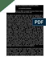 l Gobierno de Francisco Solano Lopez