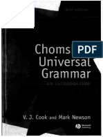 Chomsky's Universal Grammar_3rd Edition_Cook