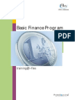Foundations in Finance