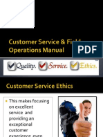 Customer Service & Field Operations Manual
