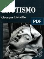 El Erotismo [Georges Bataille]