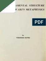 Toshihiko Izutsu • The Fundamental Structure of Sabzawari's Metaphysics