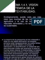 1.4. Vision Sistematica de La Sustentabilidad