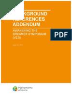 Symposium Background References Addendum V2.5